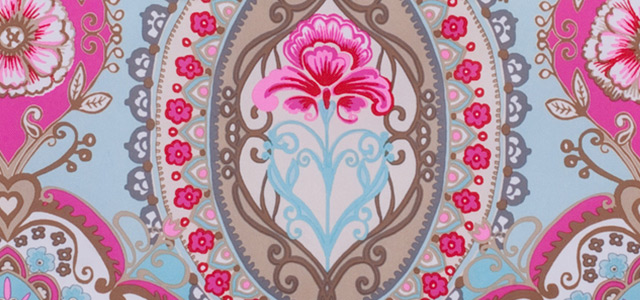 oilily tassen print roze blauw taupe